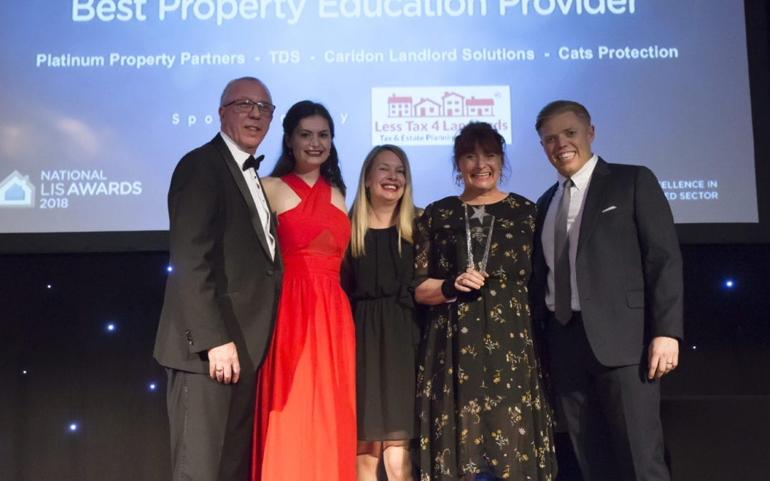 What happened when the Less Tax 4 Landlords team attended the National LIS Awards 2018