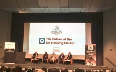 Ken Livingstone defends his housing record at the Landlord Investment Show